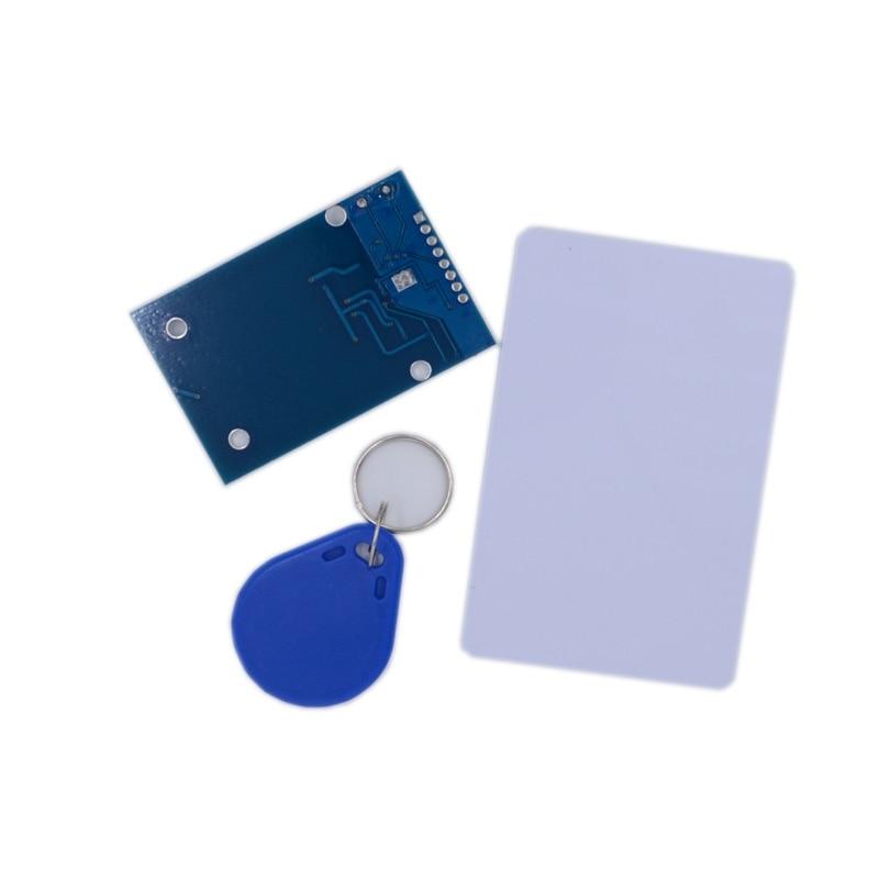 1 Conjunto de módulos RFID Kits RC522 de 13,56 Mhz 6 cm con etiquetas de escritura y lectura SPI para arduino DIY K