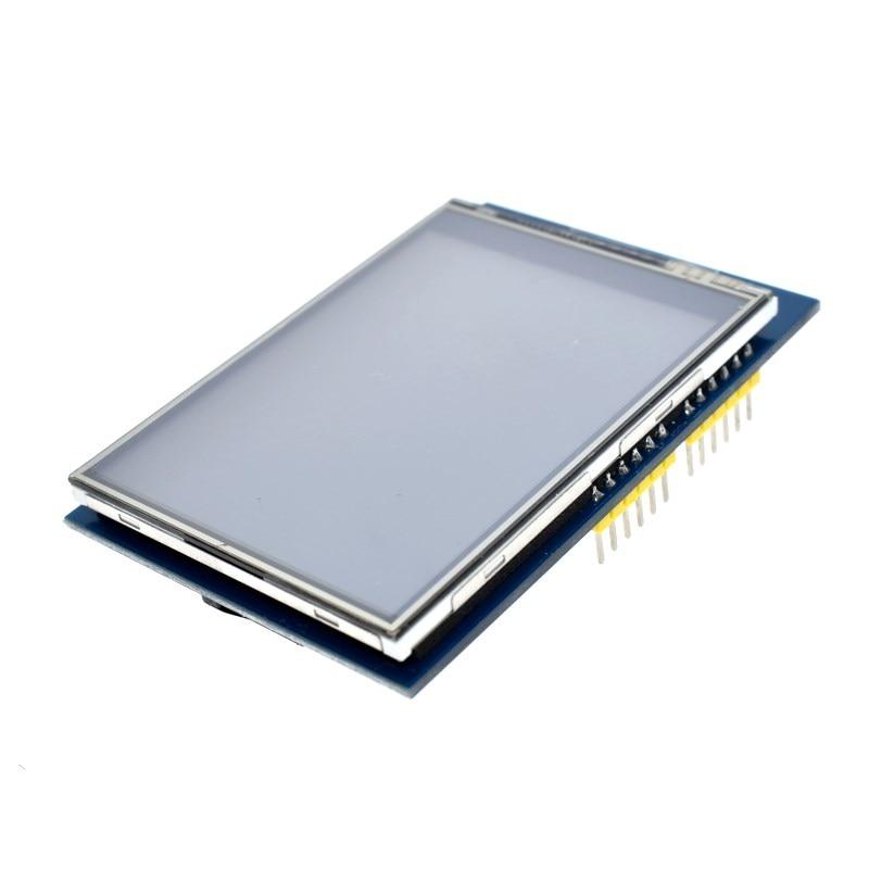 WAVGAT 2,8 pulgadas 3,3 V 300mA TFT LCD Shield Módulo de pantalla táctil para Arduino UNO con Kit de bricolaje de Panel táctil resistivo