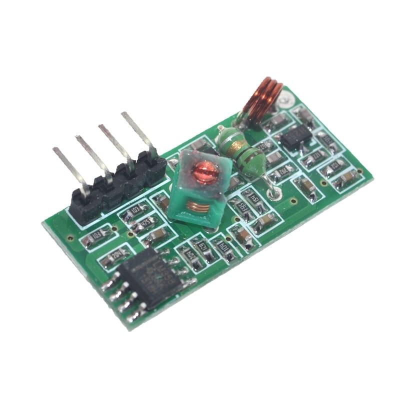5set Smart Electronics 315Mhz transmisor y receptor RF Módulo de enlace kit para arduino/ARM/MCU WL diy 315 MHZ/433 MHZ inalámbrico