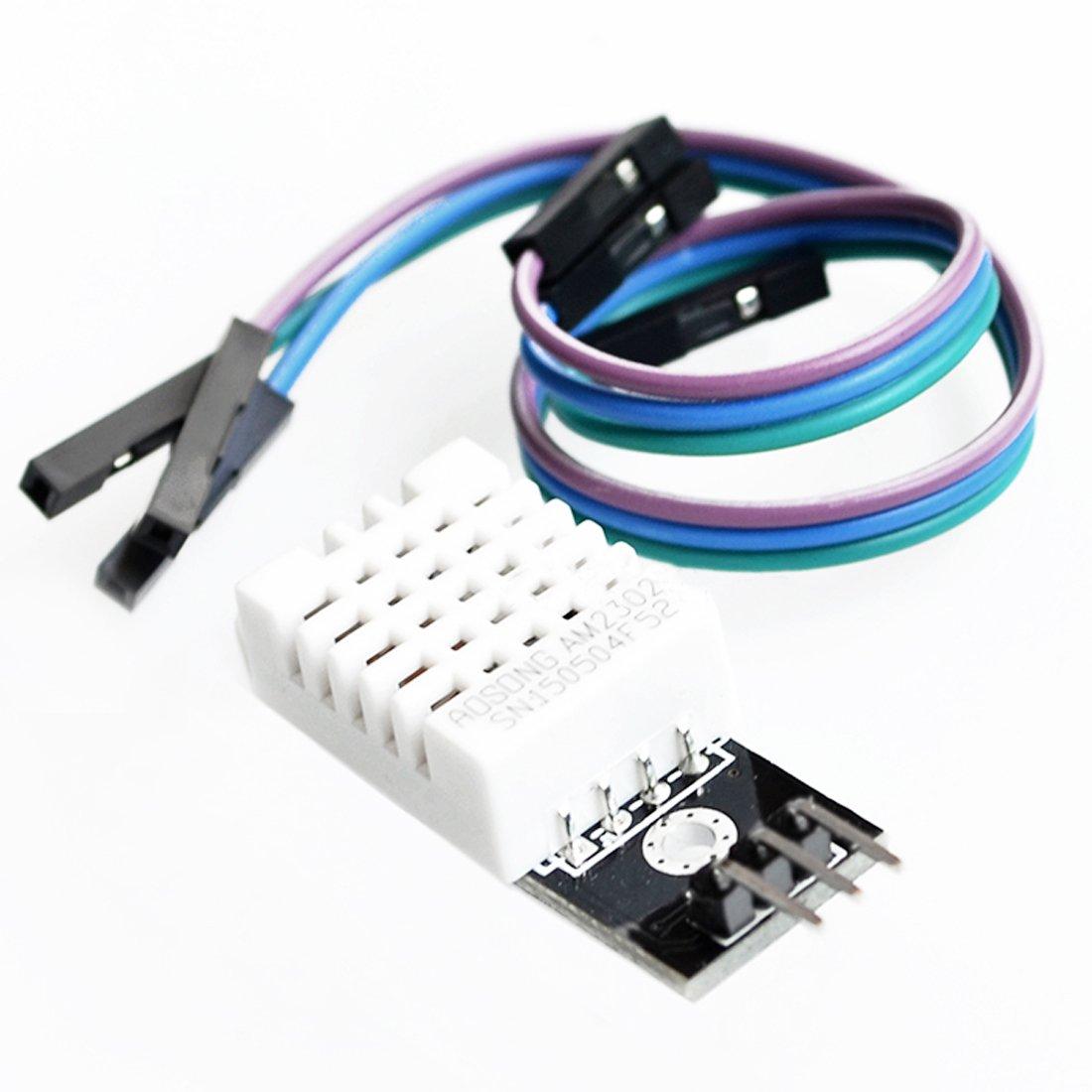 DHT11/DHT22 Digital Módulo de sensor de temperatura y humedad para Arduino Compatible SCM y Kits de bricolaje Compatible SCM componentes