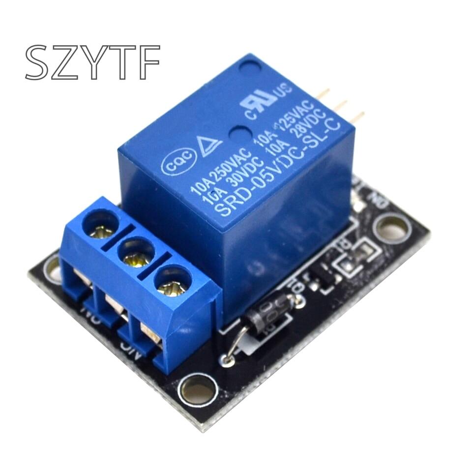 KY-019 5V 1 canal relé módulo placa escudo para PIC AVR DSP brazo para arduino MCU DIY Kit