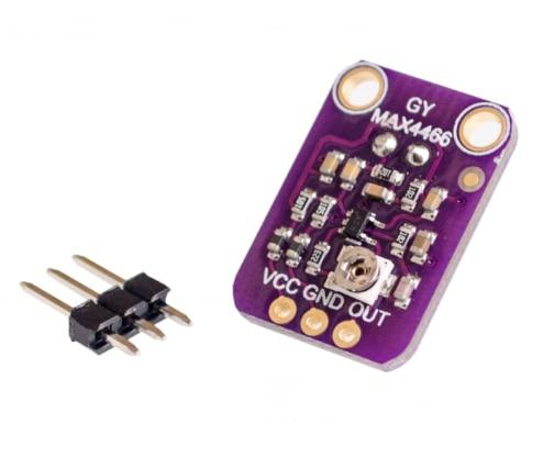MAX9814 micrófono AGC amplificador módulo Auto Gain Control ataque para Arduino MAX4466 PCB Board Diy Kit
