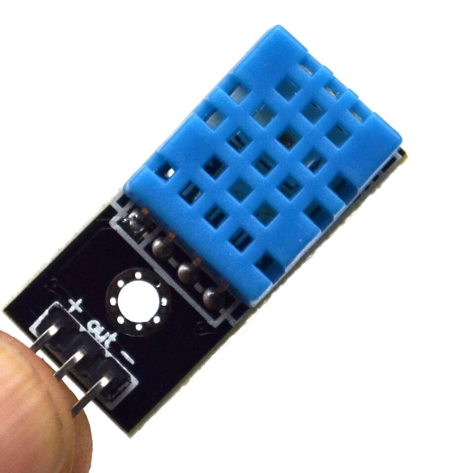 Sensor de temperatura y humedad relativa módulo DHT11 con Cable para arduino Diy Kit