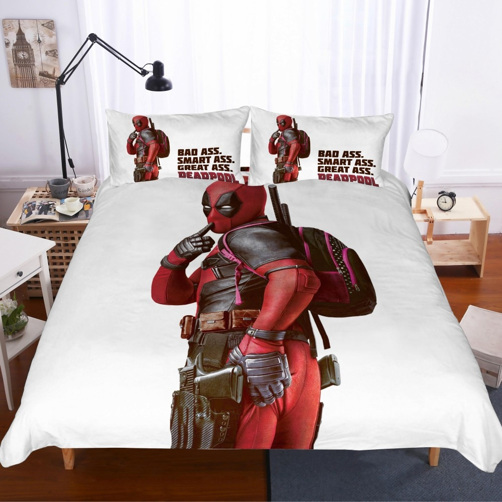2/3 piezas para niño Dropshipping juego de cama de superhéroe de impresión 3D juego de ropa de cama de 12 tamaños ropa de cama 100% juego de edredón de microfibra
