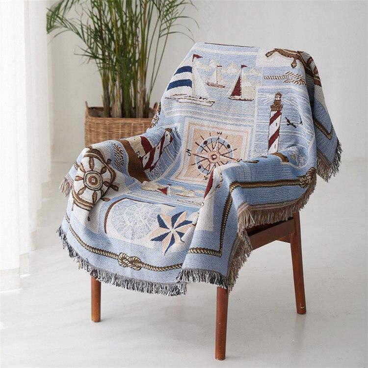 Funda de sofá de tela de algodón Europea cubierta de sofá resistente a los deslizantes todo incluido colcha cubierta cómoda ropa de cama Dropshipping