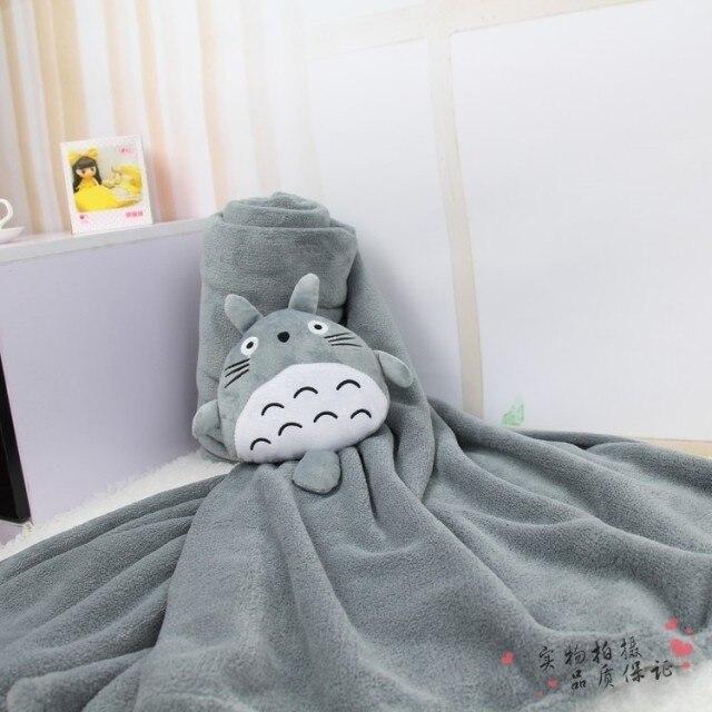 Mantas para adultos Totoro, bonitas chinchillas manta de aire acondicionado, Casa con mantas, colchas, sábanas, chales